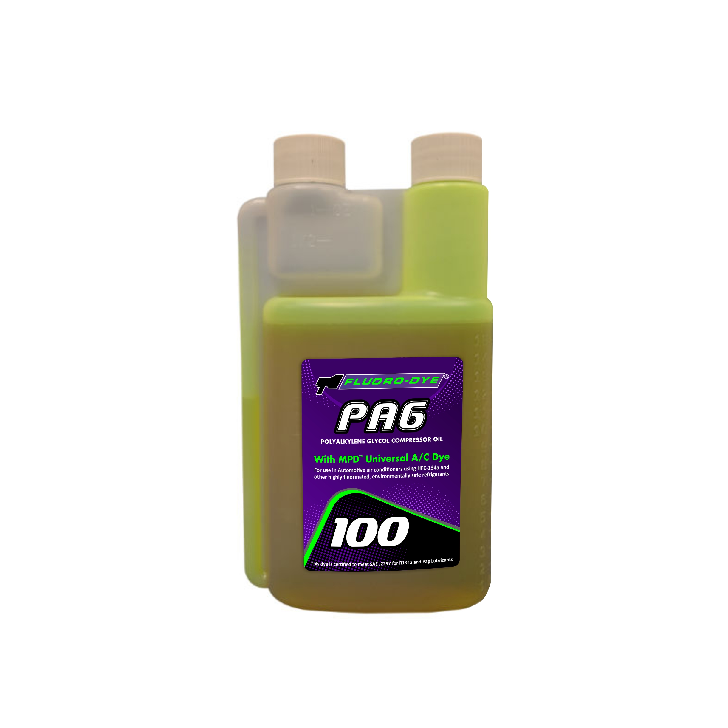 PAG 100 with MPD™ Universal A/C Dye 8oz Bottle